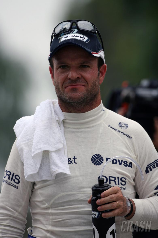 09.04.2011- Qualifying, Rubens Barrichello (BRA), Williams FW33