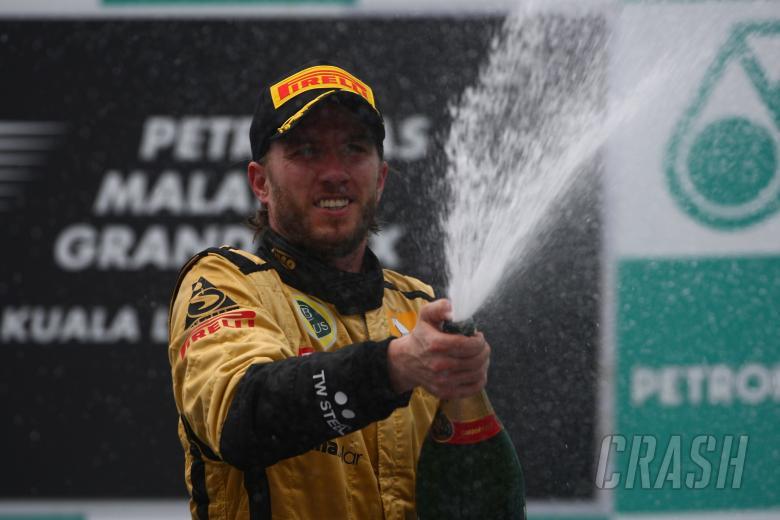 10.04.2011- Race, Nick Heidfeld (GER) Lotus Renault GP R31 3rd position