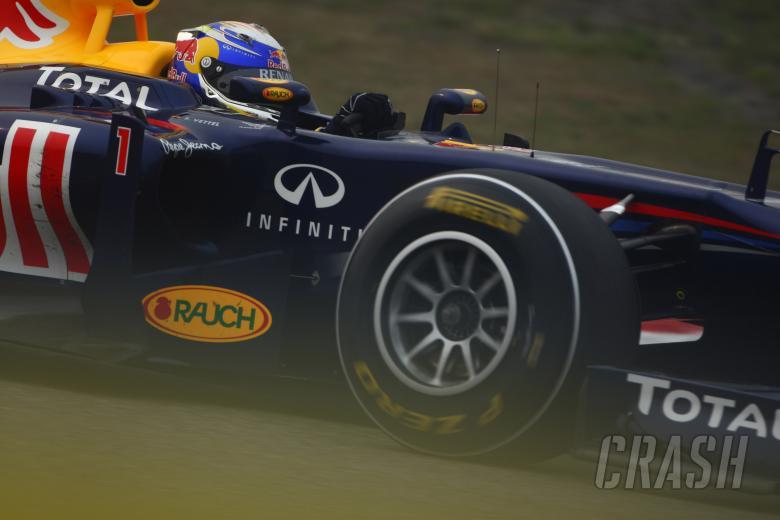 15.04.2011- Friday Practice 2, Sebastian Vettel (GER), Red Bull Racing, RB7
