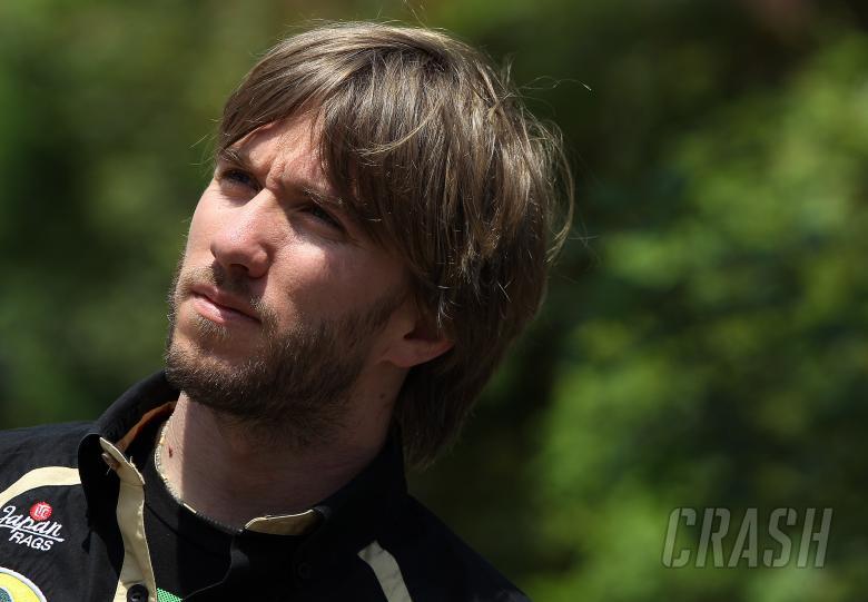 17.04.2011- Nick Heidfeld (GER) Lotus Renault GP R31