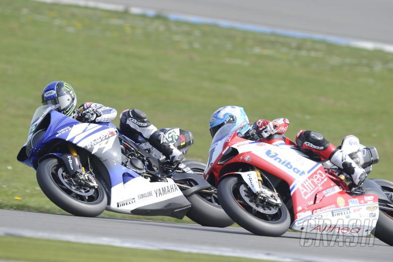 Laverty, Checa, Dutch WSBK Race 1 2011