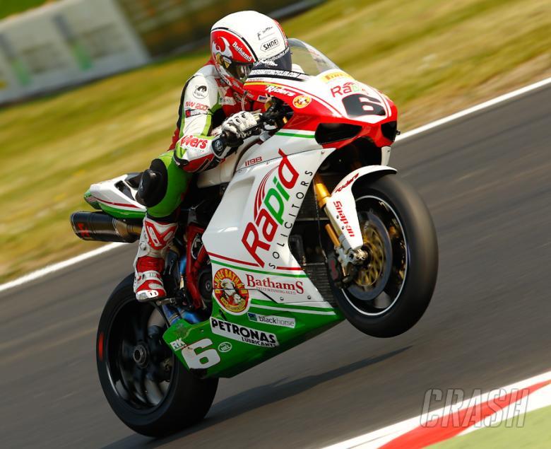 Michael Rutter - Rapid Bathams Ducati [pic credit: Ian Hopgood]