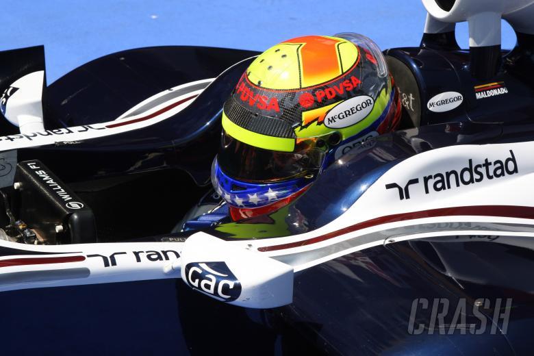 21.05.2011- Qualifying, Pastor Maldonado (VEN), Williams FW33