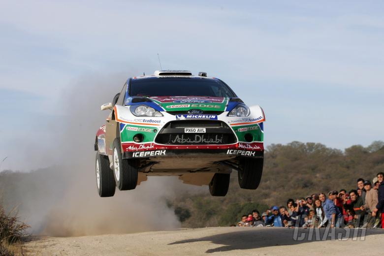 Mikko Hirvonen (FIN) Jarmo Lehtinen (FIN), Ford Fiesta RS WRC, BP Ford Abu Dhabi World Rally Team