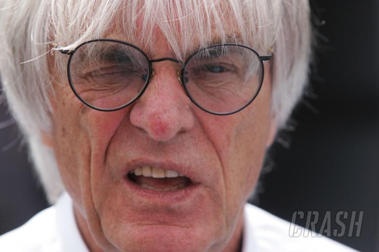 Bernie Ecclestone at the German Grand Prix