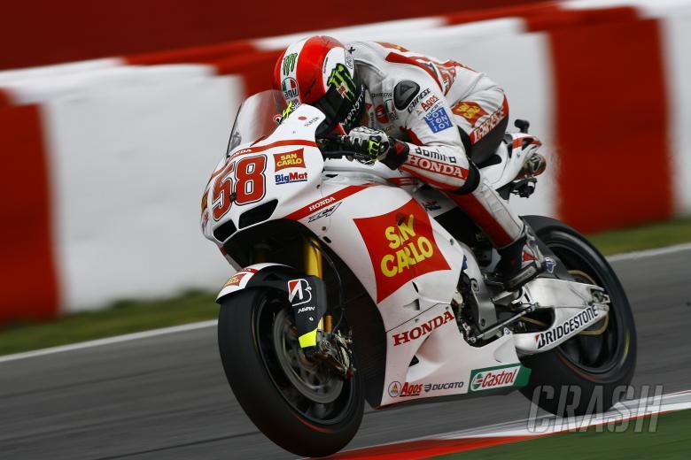 Simoncelli, Catalunya MotoGP 2011