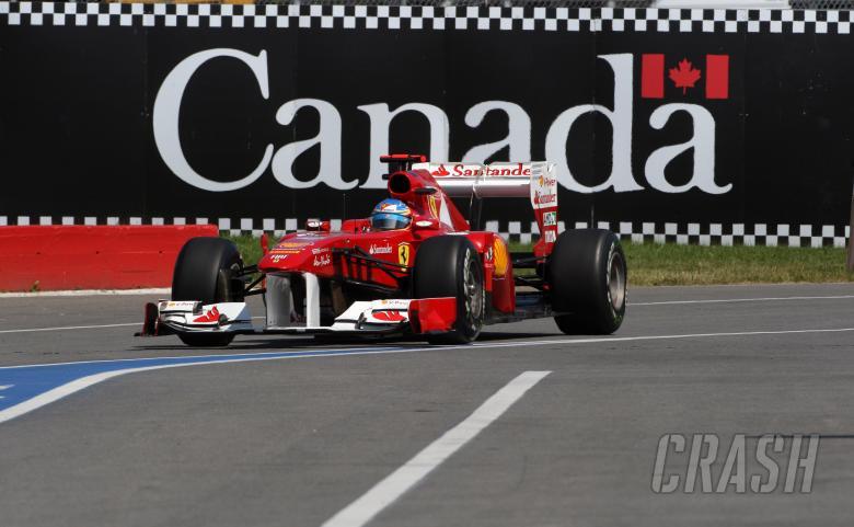 10.06.2011- Friday Practice 1, Fernando Alonso (ESP), Scuderia Ferrari, F-150 Italia