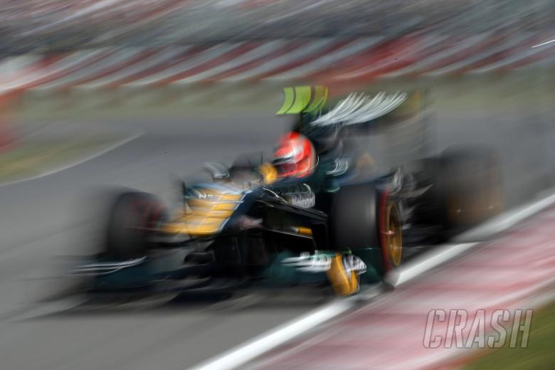 10.06.2011- Friday Practice 2, Jarno Trulli (ITA), Team Lotus, TL11