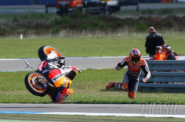 Stoner crash, Dutch MotoGP 2011