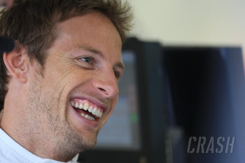Jenson Button (GBR) McLaren Mercedes