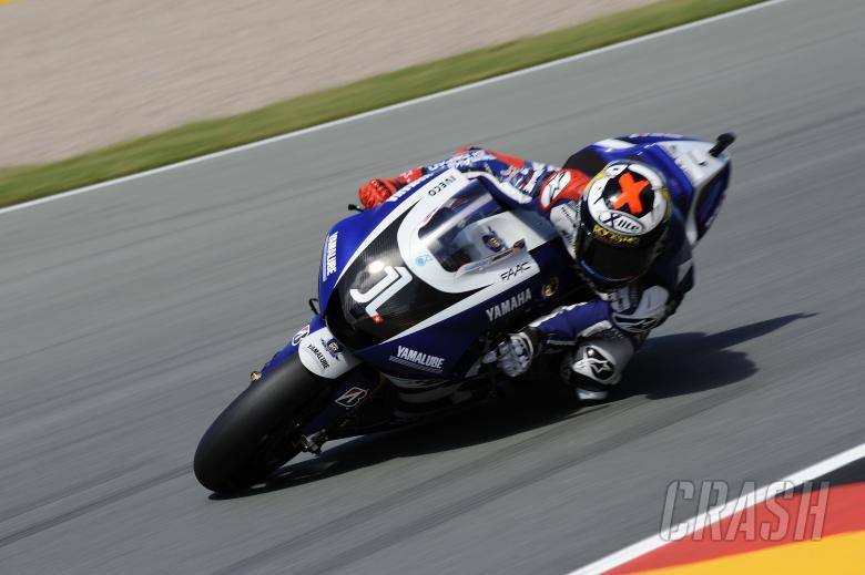 Lorenzo, German MotoGP 2011