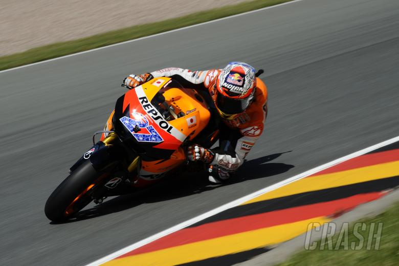 Stoner, German MotoGP 2011