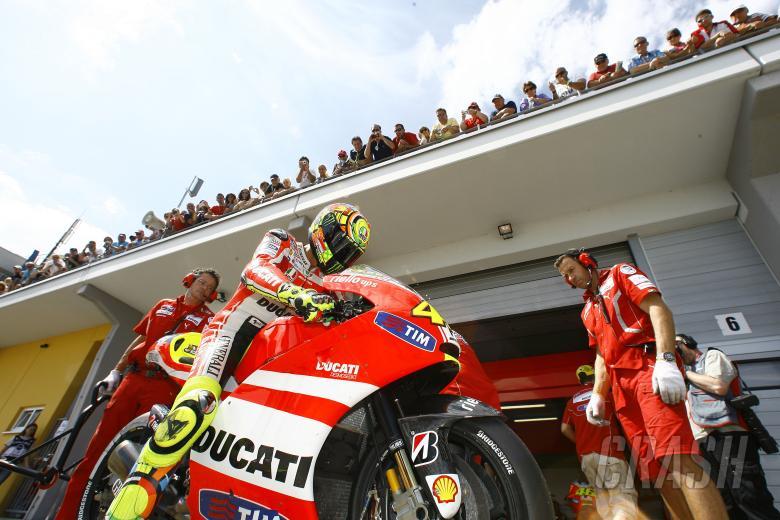 Rossi, German MotoGP 2011