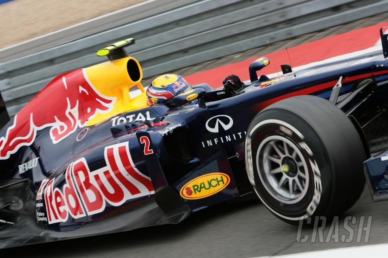 22.07.2011- Friday Practice 1, Mark Webber (AUS), Red Bull Racing, RB7