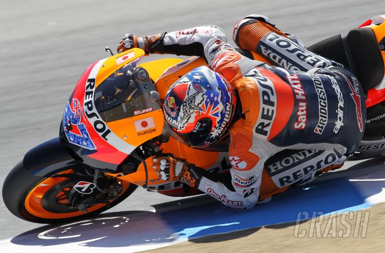 Stoner, USA MotoGP 2011