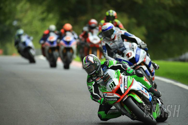 British Superbikes: Haslam closes gap to Byrne despite race two fall