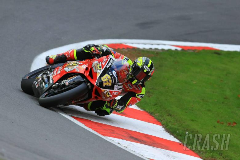 British Superbikes: Byrne edges Brookes in red-flagged FP2