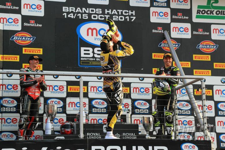 British Superbikes: Brookes, Mackenzie form McAMS Yamaha squad for 2018