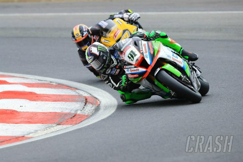 British Superbikes: Haslam edges Brookes as pace sharpens