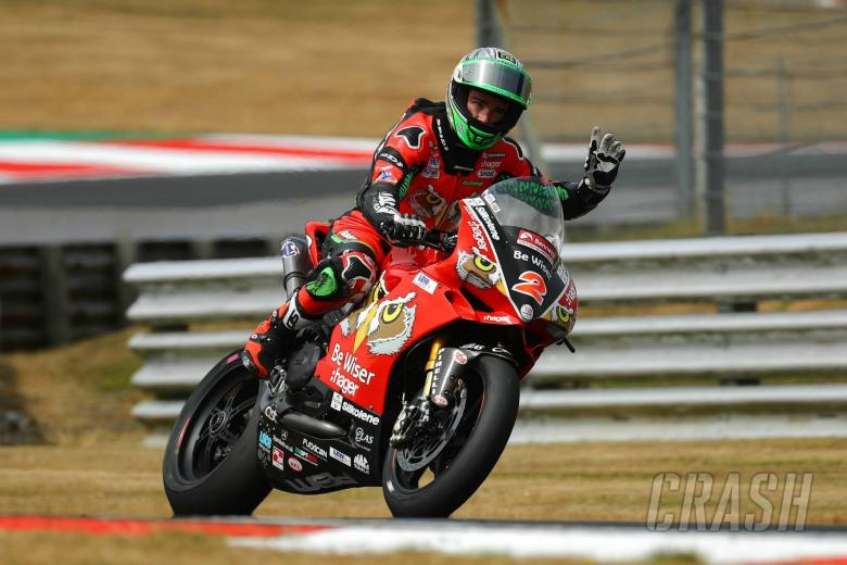 British Superbikes: Irwin claims first BSB win of the year, Haslam clinches title