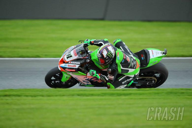 British Superbikes: BSB champion Haslam grabs wet Brands Hatch win