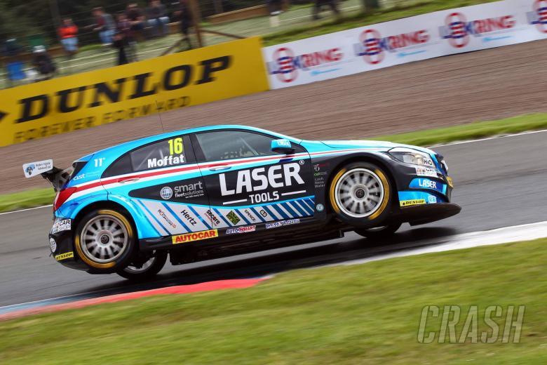 BTCC: Moffat sticks with Laser Tools Racing in BTCC