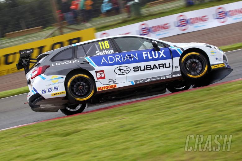 BTCC: Sutton leads Plato to clinch race two victory