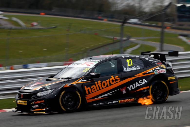 BTCC: Cammish 'hearbroken' after losing pole worthy time