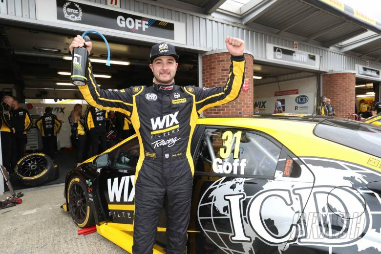 BTCC: Goff holds off Turkington for race one victory