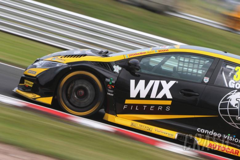 BTCC: Goff on top, Gow tests BTCC car