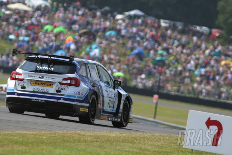 BTCC: Sutton leads all Subaru front-row ahead of Plato