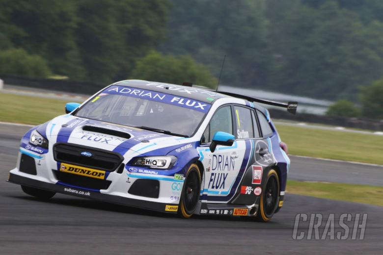 BTCC: Sutton hits the front for Subaru in FP2