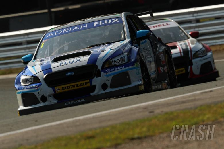 BTCC: Sutton leads Plato for Subaru 1-2 finish