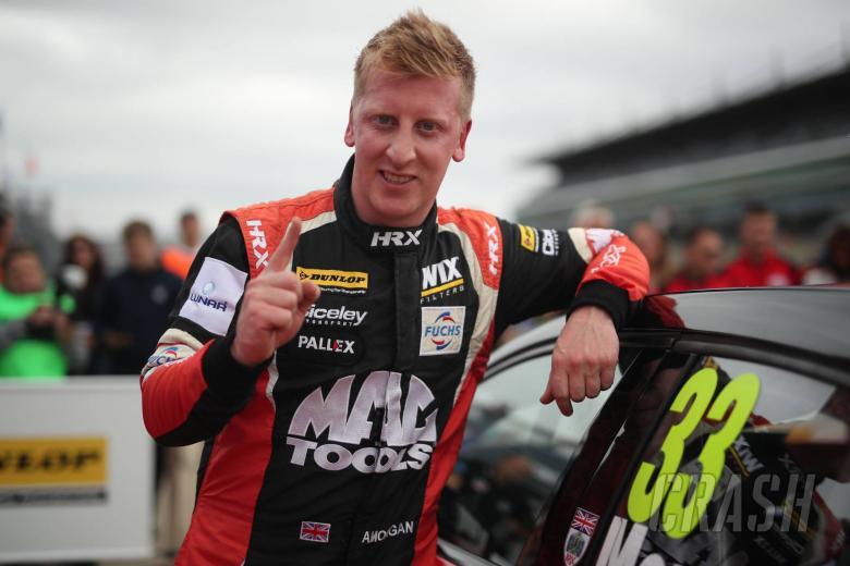 Morgan cruises to race one Rockingham win