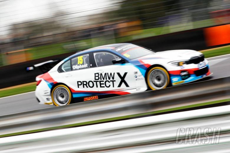 Brands Hatch Btcc Oliphant Leads Bmw Practice Domination News
