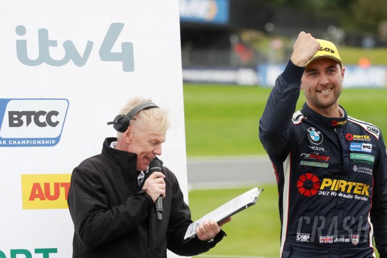 Jordan 'proud' to take BTCC title battle to the wire