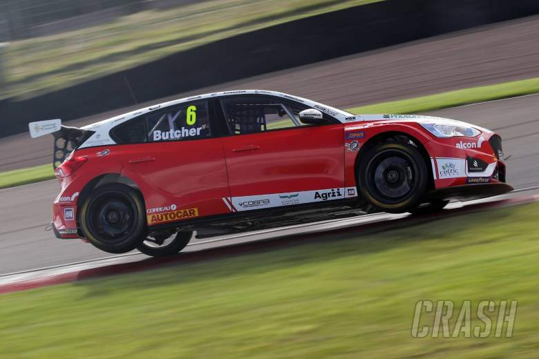 Butcher dominates race three to secure home win