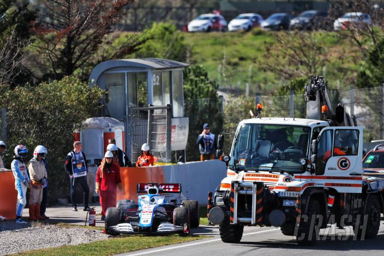 Williams stalled by engine breakdown, sacrificing test plans