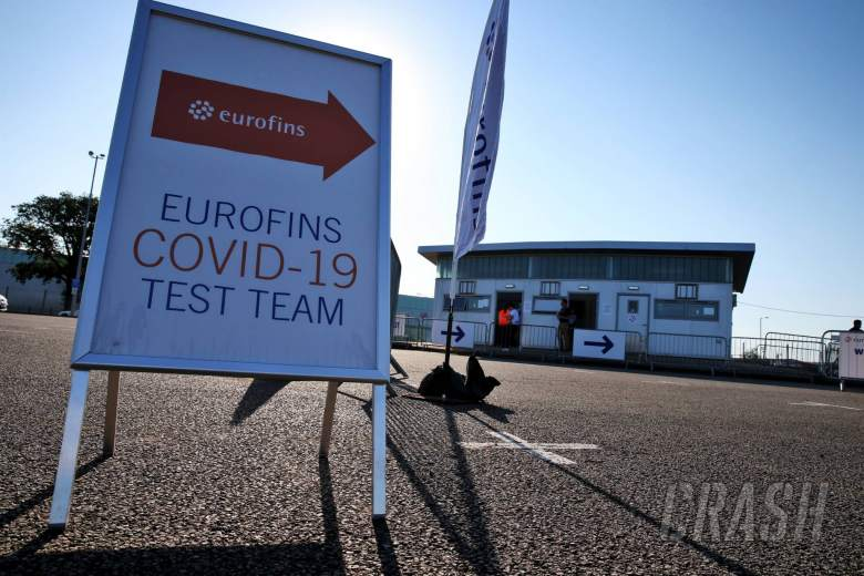 Perez the only positive case in F1's latest round of COVID-19 testing