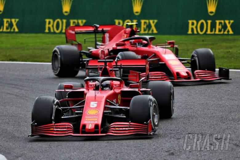 Vettel menyerukan 'kebersamaan' di Ferrari setelah perjuangan F1 Belgia