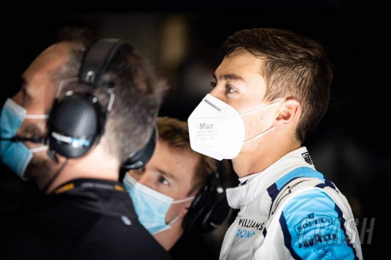 """Russell felt """"doomed"""" in 'biggest' F1 crash in Belgium"""