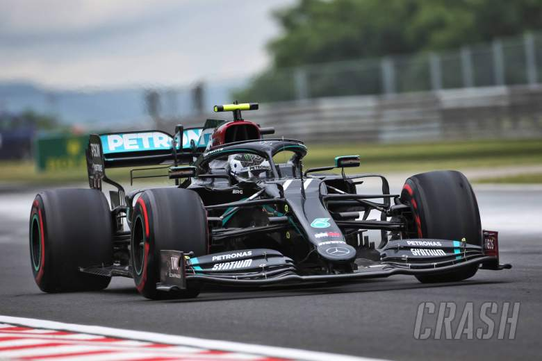 Bottas surprised by Red Bull's poor F1 Hungarian GP qualifying