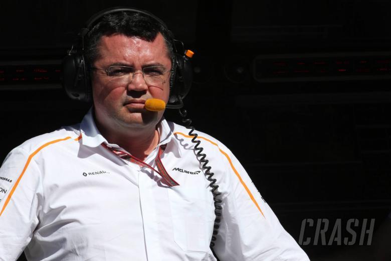 Boullier resigns as McLaren racing director