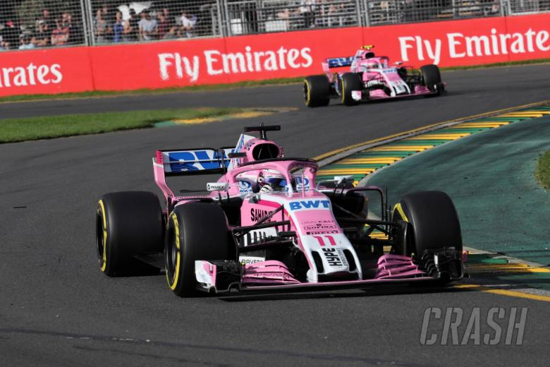 Force India confirms front wing upgrade for Bahrain