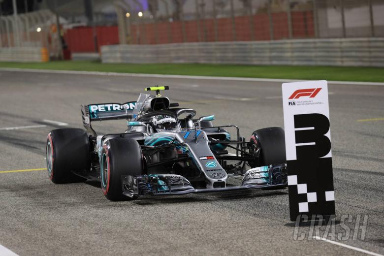 F1: Bottas: 'Disappointing' to miss out on Bahrain front row