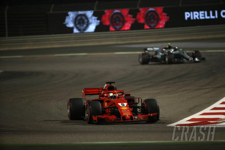 F1: Vettel holds on for dramatic Bahrain F1 victory