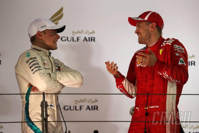 Vettel sure Bottas was going to beat him to victory in Bahrain