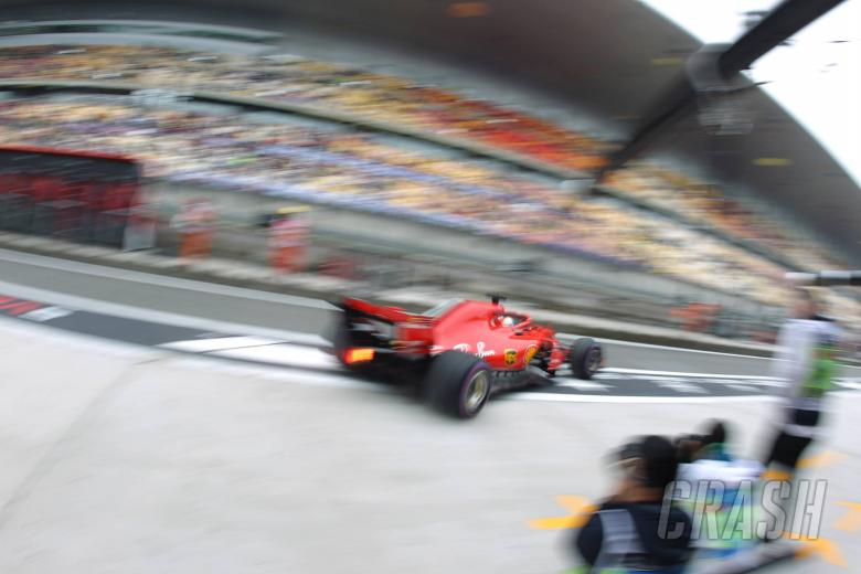 F1: Chinese Grand Prix - Qualifying Results