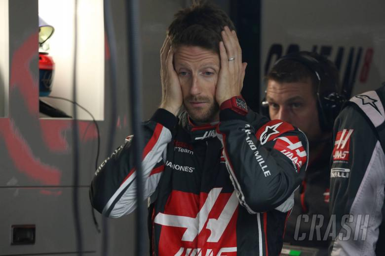 F1: Grosjean's lack of points in 2018 'not a problem' for Haas