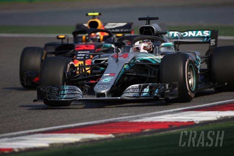 Hamilton feared he'd get tangled in Verstappen, Vettel clash
